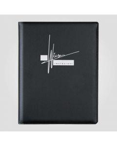 zwarte menukaarten