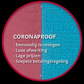 Coronaproof Menukaarten