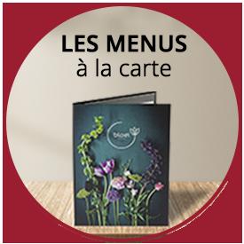 Les menus a la carte