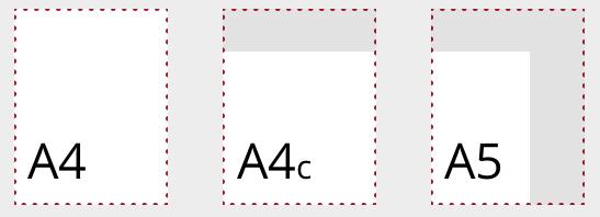 Coronaproof menukaarten TwoTone formaten