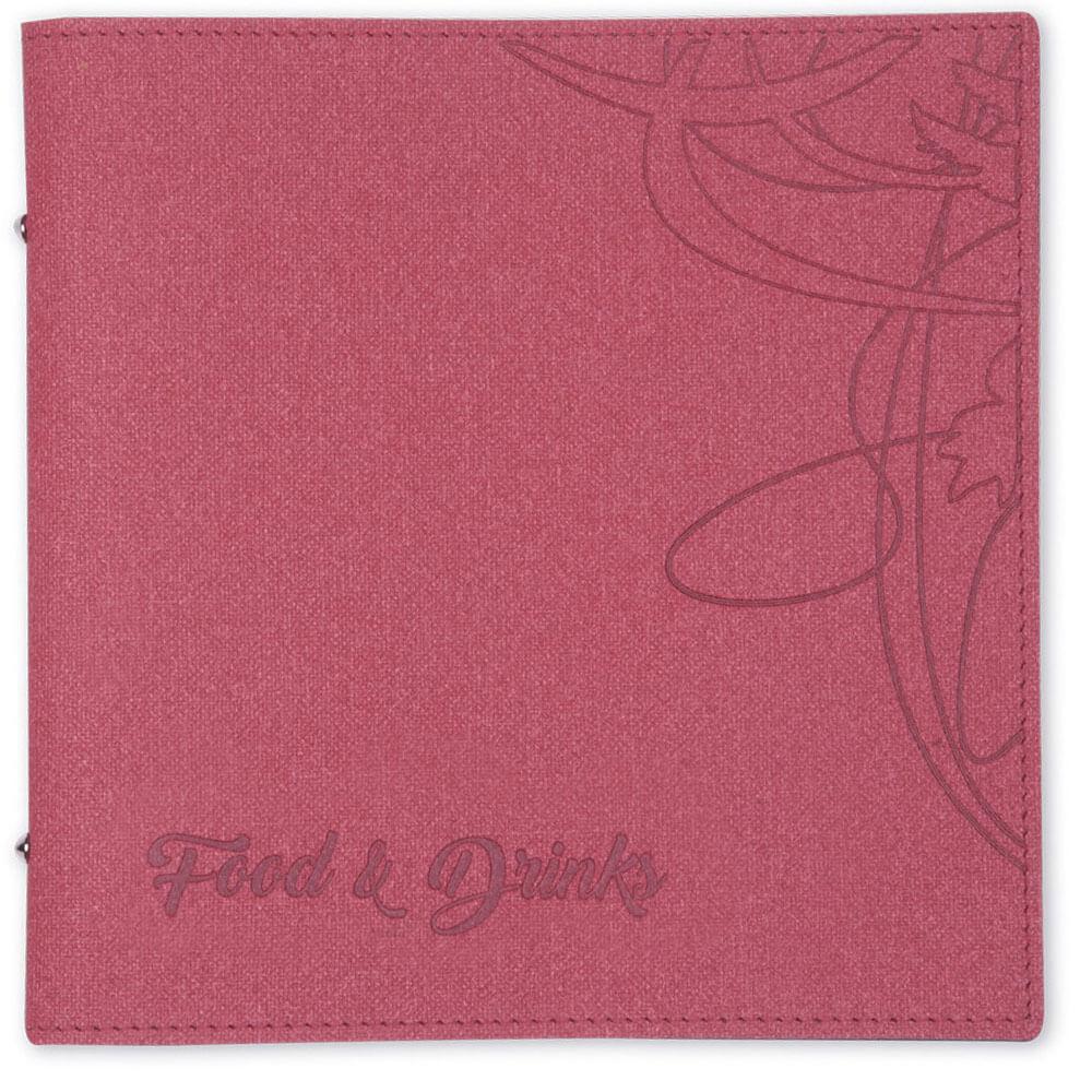 Coronaproof menukaarten TwoTone rood