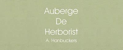 Menukaarten Auberge De Herborist