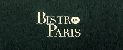 Menukaarten Bistro de Paris