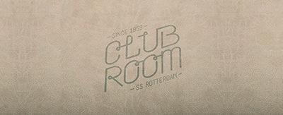 Menukaarten Club Room (SS Rotterdam)