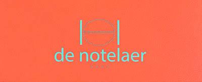 Menukaarten De Notelaer