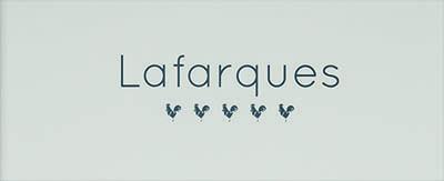 Menukaarten Lafarques