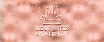 Menukaarten Le Prince