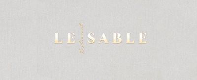 Menukaarten Le Sable