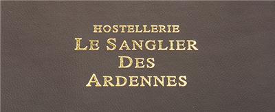Menukaarten Le Sanglier Des Ardennes