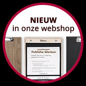 webshop menukaarten