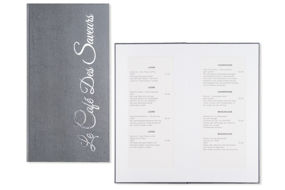 menukaarten kader