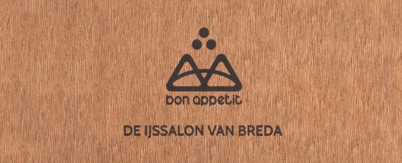 Menukaarten Bon Appetit