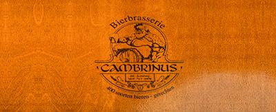 Menukaarten Cambrinus