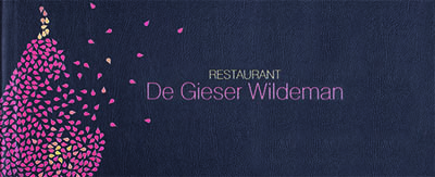 Menukaarten De Gieser Wildeman
