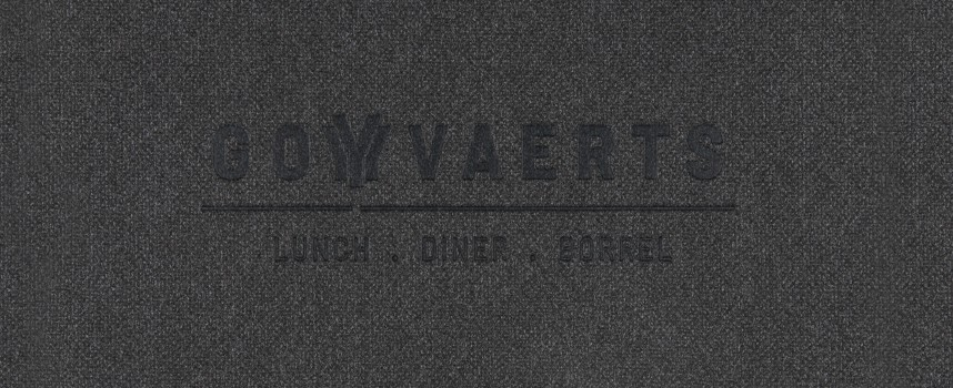 Menukaarten Goyvaerts