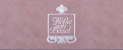 Menukaarten Hofke van Bazel
