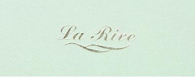 Menukaarten La Rive (Amstel Hotel)