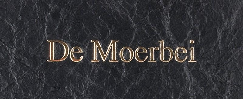 Menukaarten Moerbei