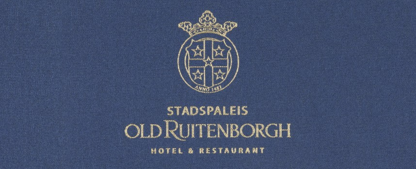 Menukaarten OldRuitenborgh