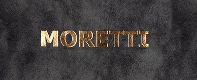 Menukaarten Osteria Moretti