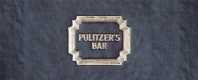 Menukaarten Pulitzer