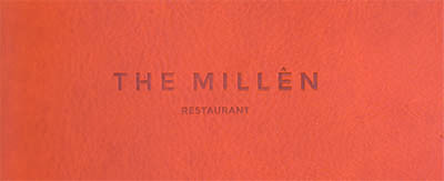 Menukaarten The Millèn