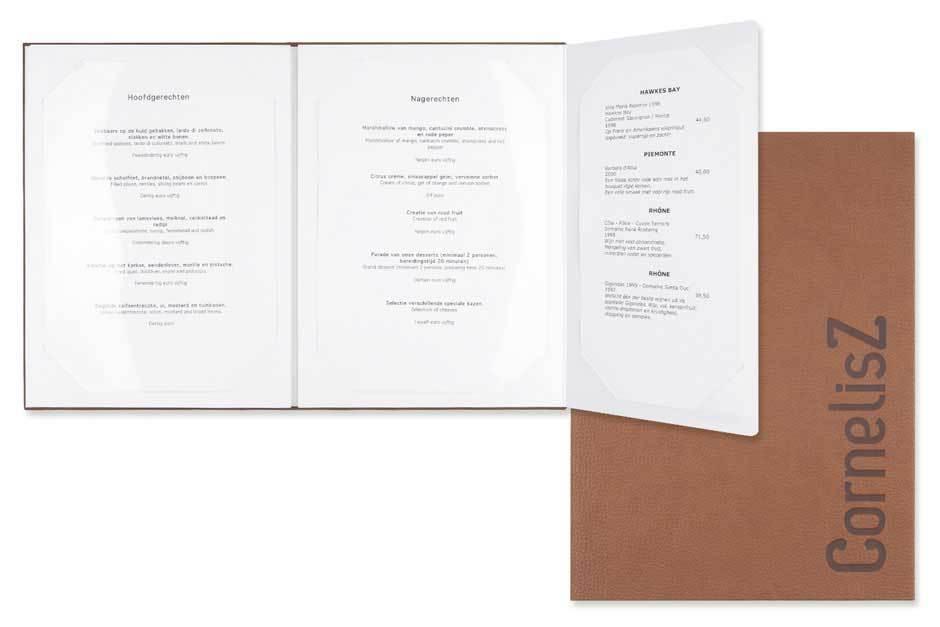 menukaarten eindhoven